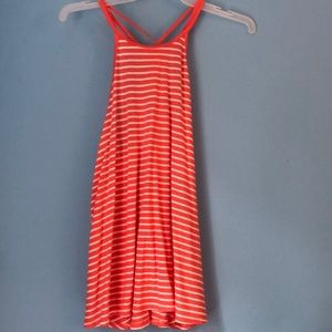 Bright Hollister striped tank top!